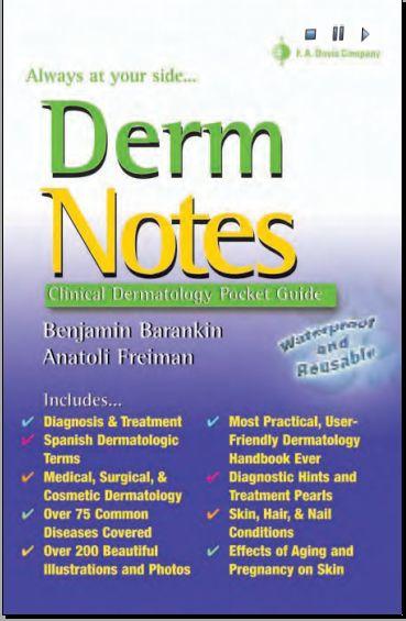 Derm notes Dermatology Clinical Pocket Guide [PDF] | Free