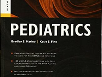 Blueprints Pediatrics (Blueprints Series) Sixth Edition