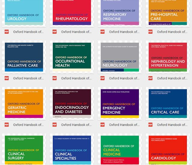 Oxford Medical Books 32 ebooks on 1 link n