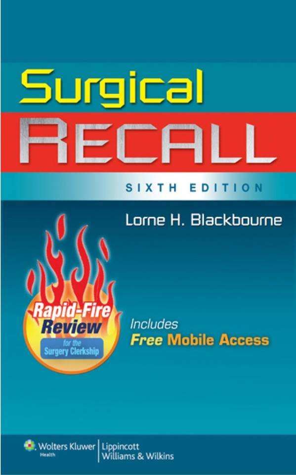 Surgical Recall 6th edition [pdf]