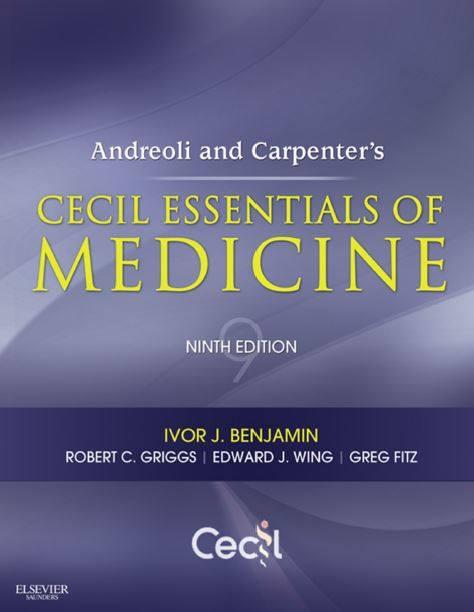 Cecil Essentials of Medicine 9th edition pdf | Free Medical