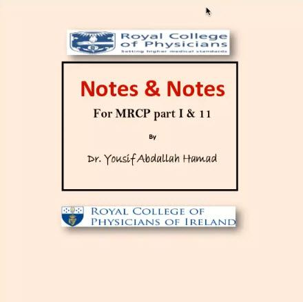 Note and notes for MRCP part 1 & 2 (1)