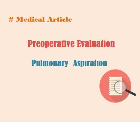 PreoperativeEvaluation