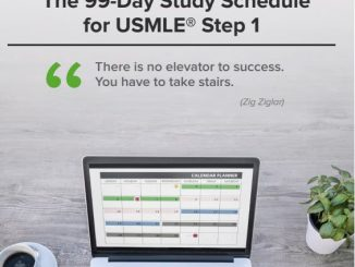 The 99-Day Study Schedule for USMLE Step 1