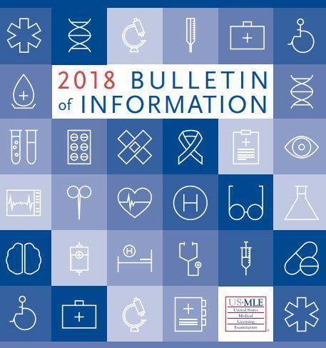 2018 Bulletin of Information USMLE [PDF]