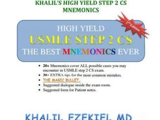 Khalil High Yield Step 2 CS Mnemonics [pdf]