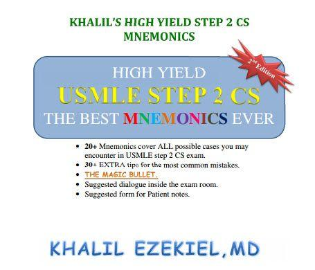 Khalil High Yield Step 2 CS Mnemonics [pdf]