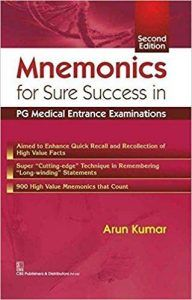 MNEMONICS for Sure Success in PG Medical Entrance Examinations 2nd edition (2016) [PDF]
