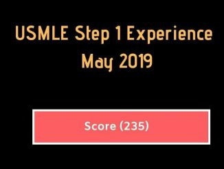 May 2019 USMLE Step 1 Experience {Score #235}