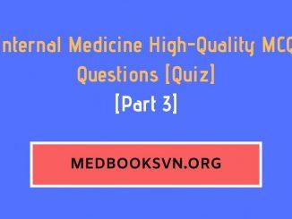 [Part 3] Internal Medicine High-Quality MCQ Questions [Quiz]