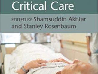 Principles of Geriatric Critical Care 1st Edition