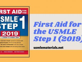 First Aid Step 1 2019 Direct PDF Link - USMLE Step 1