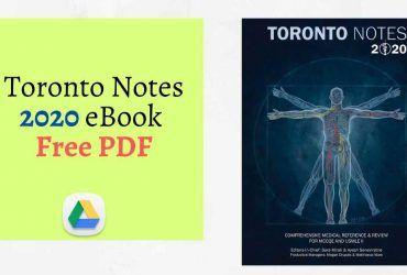Toronto Notes 2020 eBook Free PDF