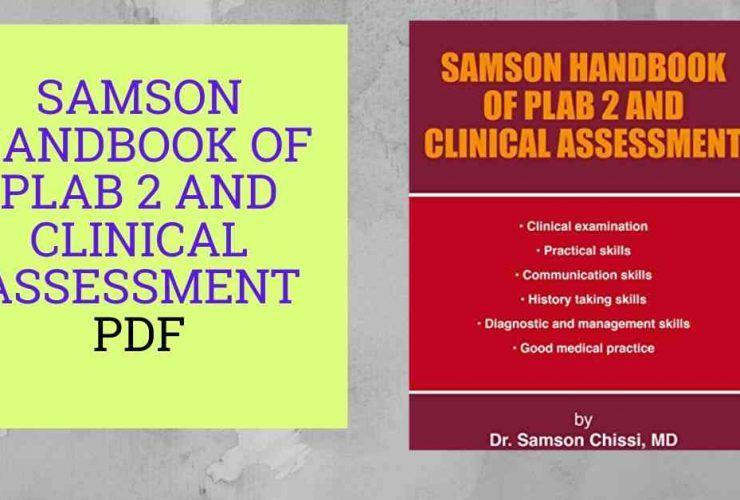 SAMSON HANDBOOK OF PLAB 2 AND CLINICAL ASSESSMENT PD