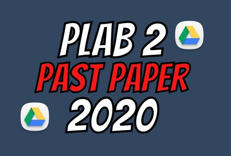 PLAB 2 Past Paper Version 2020