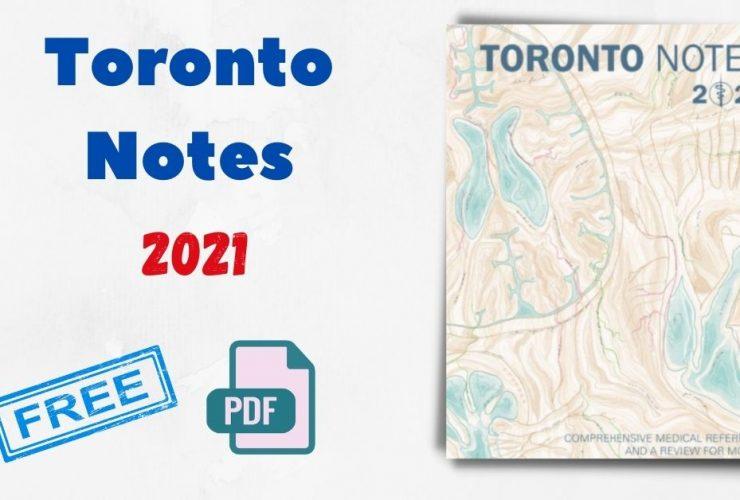 Toronto Notes 2021
